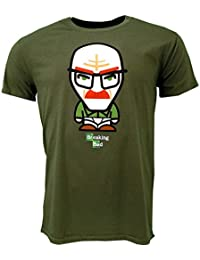 Breaking Bad Underwear Minion T-shirt Green Official Licensed TV
