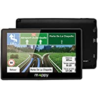 MAPPY GPS ITIE 438 carte à vie 4 pouces noir