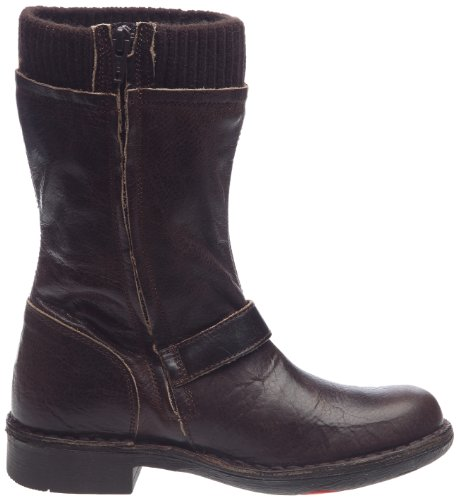 Kickers Rock It, Boots femme Marron foncé