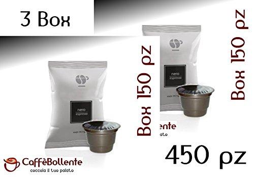 Lollo Caffè - Nero espresso - Capsule compatibili Caffitaly System - 450 pz (3x150 pz)