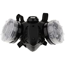 MagiDeal Máscara de Gas de Respirador de Carbón Activado Protector de Seguridad de Pintura de Filtro