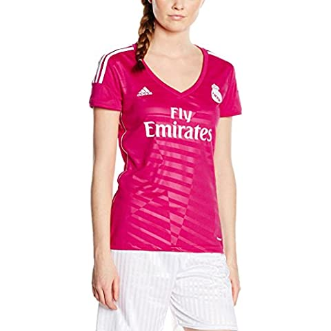 adidas - Camiseta de mujer 2ª equipación Real Madrid CF 2014-2015 Adidas