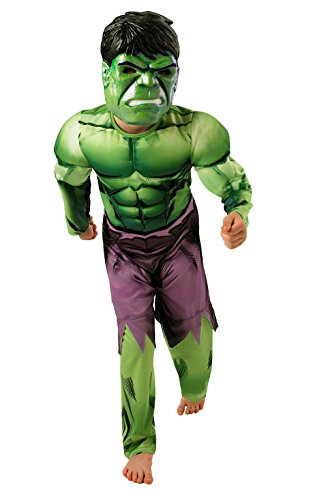 Rubie's 3889213 - Hulk Muscle Chest Child Kostüm,  Größe:  L