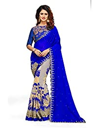 1a4dcbf836 Georgette Women's Sarees: Buy Georgette Women's Sarees online at ...