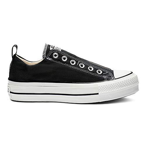 Converse Damen Sneaker Chuck Taylor All Star Fashion Ox schwarz, Größe:37 Converse Chuck Taylor Slip-ons