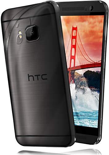moex HTC One S9 | Hülle Silikon Transparent Klar Clear Back-Cover TPU Schutzhülle Dünn Handyhülle für HTC One S9 Case Ultra-Slim Silikonhülle Rückseite