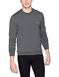 Fred Perry Pull Col Rond Noir