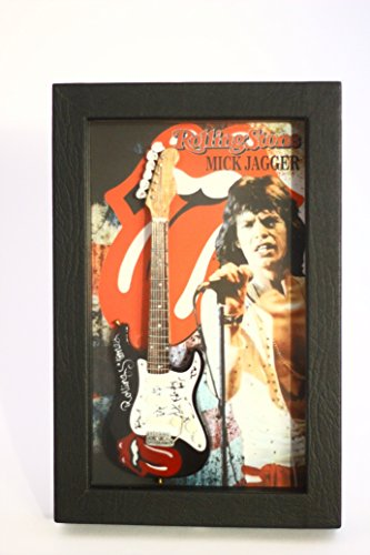 rgm8817-mick-jagger-miniature-guitar-collection-in-shadowbox-frame