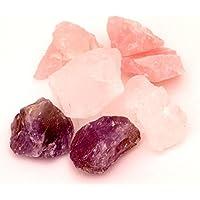 Edelstein Wasser Basis-Set: 250g Rosenquarz, Bergkristall, Amethyst (Wassersteine) preisvergleich bei billige-tabletten.eu