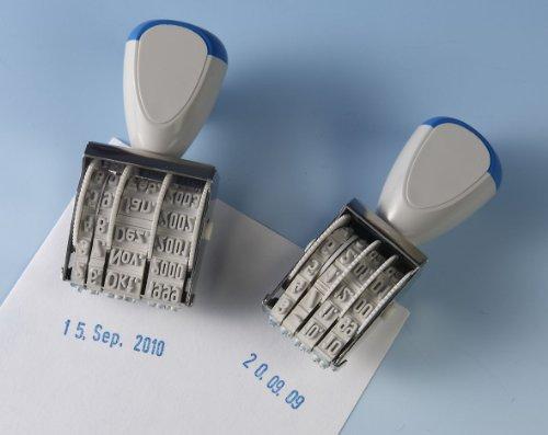 WEDO Stempel, Datum in Zahlen, Industriemodell 4x17mm, 104 1014