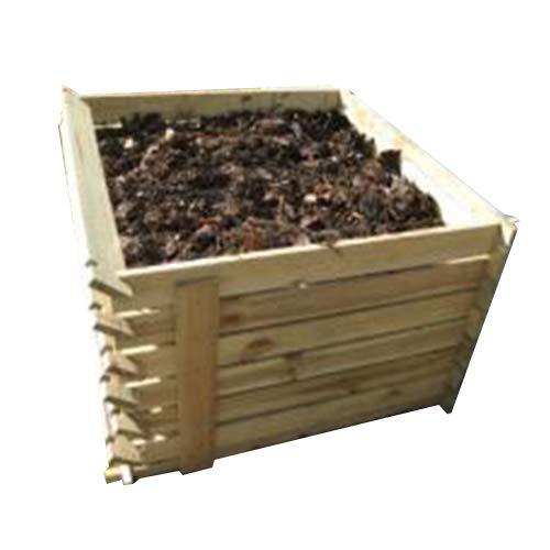 Primrose Lacewing 530 Liter Komposter aus Holz mit Stecksystem, 65cm x 92cm x 92cm