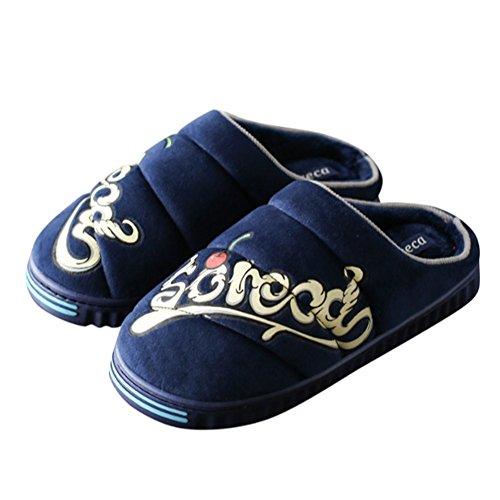 TELLW Pantofole Donna Blue