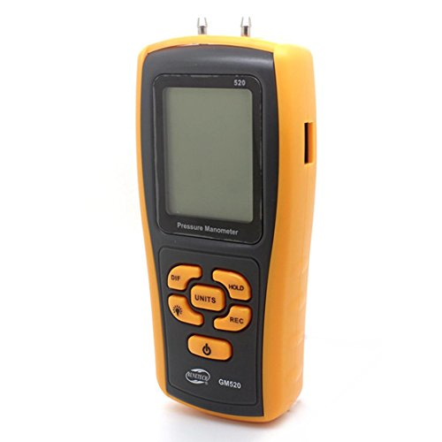 - Manometer Flüssigkeit (LDD GM520 Digital Manometer Differenzdruckmesser Messgerät Dampfkessel Manometer Druck Sender Druckmanometer Wasserdruck Messung Manometer Rohr Flüssigkeit Manometer)