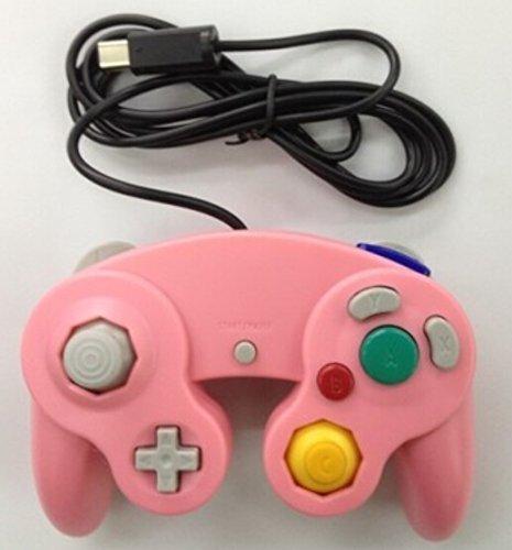 Gotor® Controller Klassische Gamepad kabelgebunden Joypad für Nintendo Wii Gamecube Remote rose Shure Se535 Se215 Se315 Se425 Se846 (Wii Gamecube Für Remote)