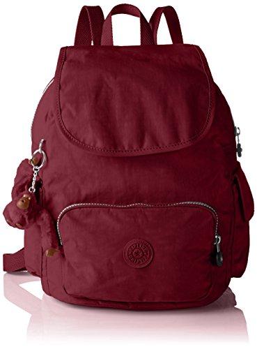 Kipling City Pack S, Sacs Portés Dos Femme Rose (REF33G Berry)