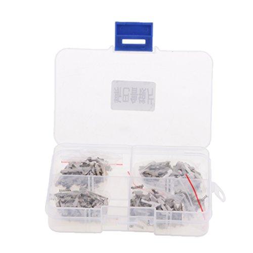 MagiDeal 200x Voiture Serrure Reed Clé Cylindre Joint Plat Réparation Kit Verrouillage