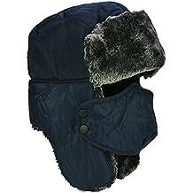 Unisex Wintermütze mit Ohrenklappen, Fellmütze, Kunstfellmütze, Fliegermütze; hält warm beim Skifahren, Schlittschuhlaufen und anderen Outdoor-Aktivitäten; in verschiedenen Farben erhältlich