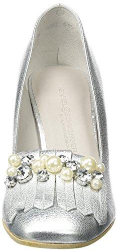 Kennel und Schmenger SchuhmanufakturKaren - Scarpe con Tacco Donna Silber (light Silver/crystal)