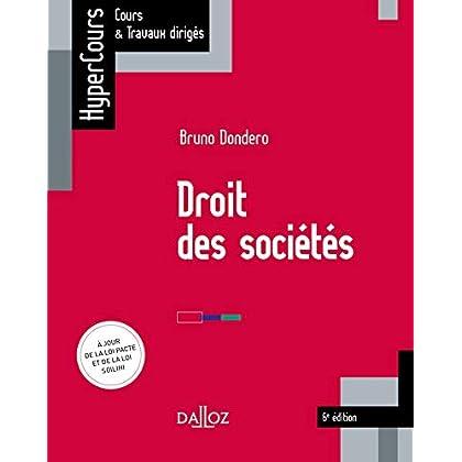 Droit des sociétés - 6e éd.