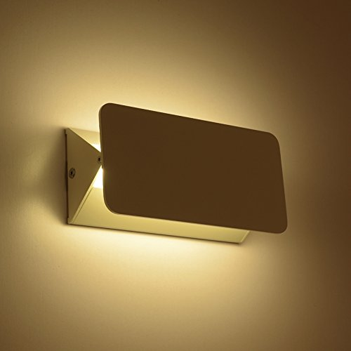 Lightess lampada da parete a led 5w stile moderno - Applique per camera da letto ...
