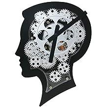 BGGZXX Reloj De Pared del Engranaje Estilo Industrial Retro, Creativo Reloj De Pared Decoración De