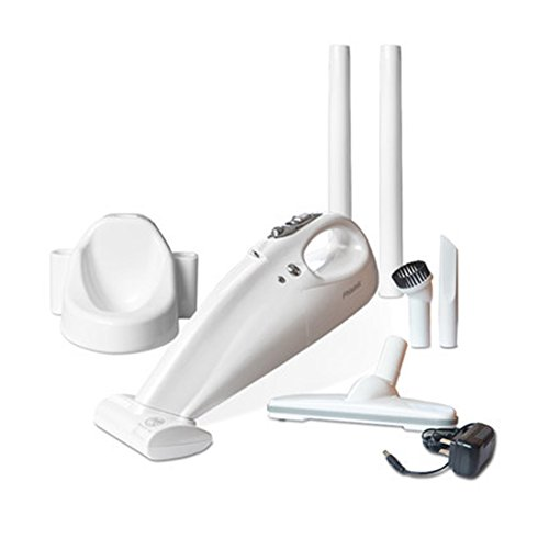 Auto-Staubsauger, Tragbares Tragbares Vakuum Für Haustier-Haar-Staub-Auto-Reinigungs-Staubsauger, Bett-Mitesser-Abbau-Instrument,White -