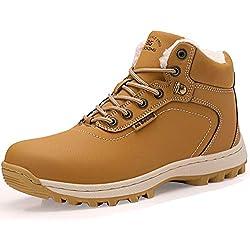 a5877645048 ABTOP Hombre Botines Zapatos Botas Nieve Invierno Botas Impermeables Fur  Forro Aire Libre Boots (46