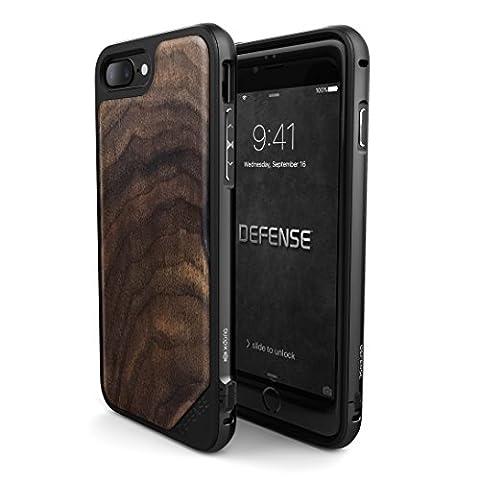 X-Doria Defense Lux Wood Case for iPhone 7 Plus - Walnut