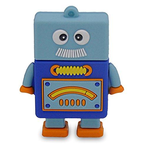 818-Shop No90900040038 Hi-Speed 3.0 USB-Stick (8 GB) Roboter Cube bunt