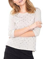 ESPRIT Damen Langarmshirt 096ee1k028