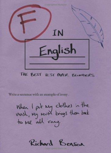F in English (F in Exams) por Richard Benson