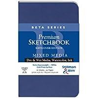 Stillman & Birn Beta Softcover Sketchbook, Heavyweight 180lb, Cold-Press, White,