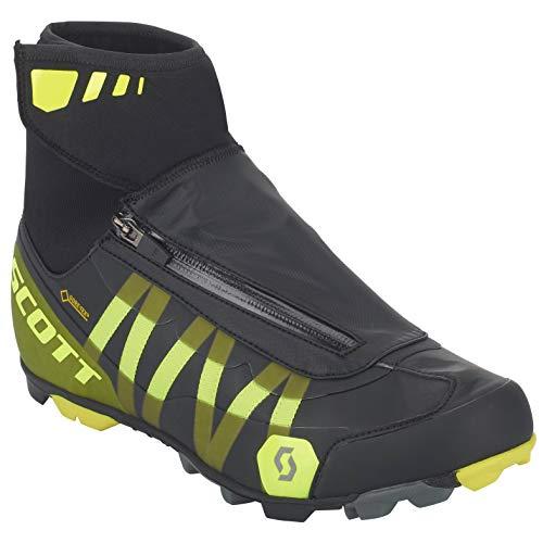 Scott MTB Heater Gore-Tex Fahrrad Schuhe schwarz/gelb 2019: Größe: 44