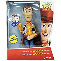 Toy Story Woody con Voz, Figura Articulada Bizak 61234071