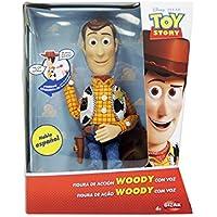Toy Story Woody con Voz, Figura Articulada, (Bizak 61234071)