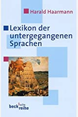 Lexikon der untergegangenen Sprachen (Beck'sche Reihe) Taschenbuch