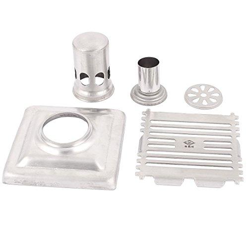 Edelstahl Badzimmer Dusche Boden Abfluss Sieb Silber Bodenablauf