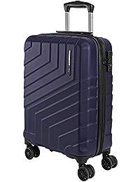 Valigia Trolley da Viaggio Rigida - Bagaglio Ultra Leggero in ABS con Chiusura TSA - Manico in Alluminio e 4 Ruote Doppie Girevoli - Perletti Travel