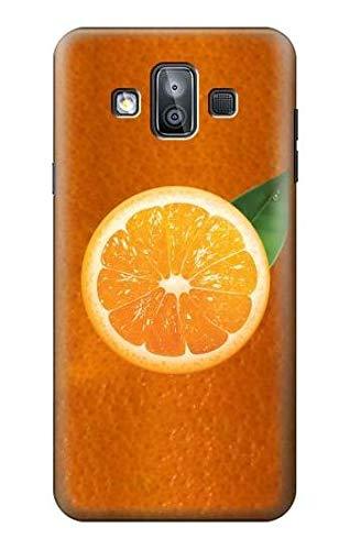 Innovedesire Orange Fruit Funda Carcasa Case para Samsung Galaxy J7 Duo