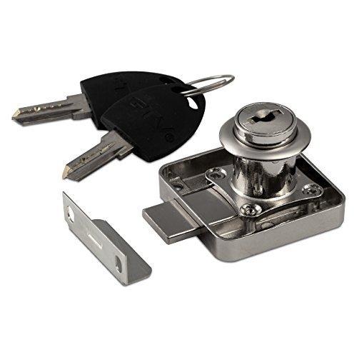SO-TECH® Möbelschloss 138 Aufschraubschloss Schrankschloss mit 2 Schlüssel