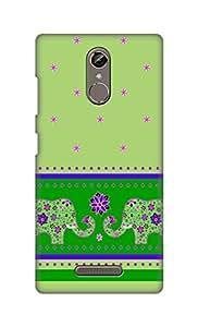 ZAPCASE Printed Back Cover for Gionee S6s