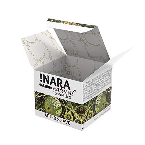 !Nara Naturkosmetik After Shave Creme 50 ml pflegende Creme für Herren gegen Hautrötungen und Irritationen mit beruhigender entzündungshemmender Wirkung nach der Rasur –