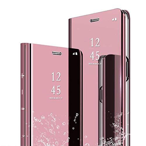 0f66f89ffa6 per SAMSUNG GALAXY J6 PLUS J6+ J610 (6.0) Custodia COVER specchio  riflettente LIBRO MIRROR