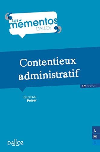 Contentieux administratif - 16e éd.