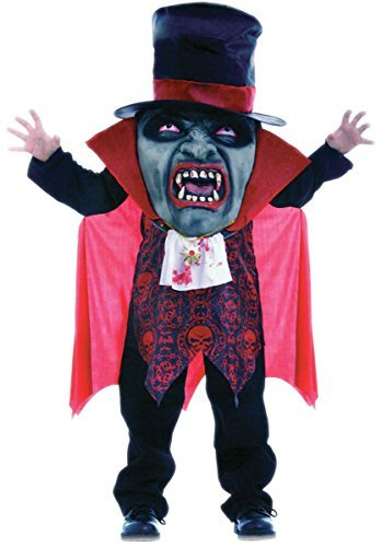 Neue Scary Jungen-Mad Hatter Vampir Halloween Fancy Dress Boy's Kostüm Halloween/Fasching, Horror-Kostüm (Medium)