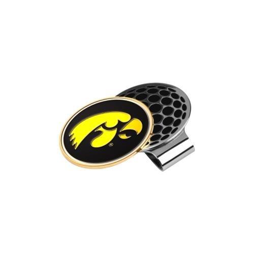 NCAA Iowa Hawkeyes Golf Hat Clip mit Ball Marker