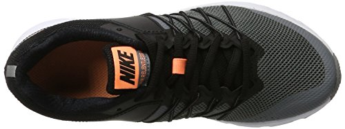 Nike Damen Air Relentless 6 Laufschuhe Schwarz (Black/Sunset Glow-Cool Grey-White)