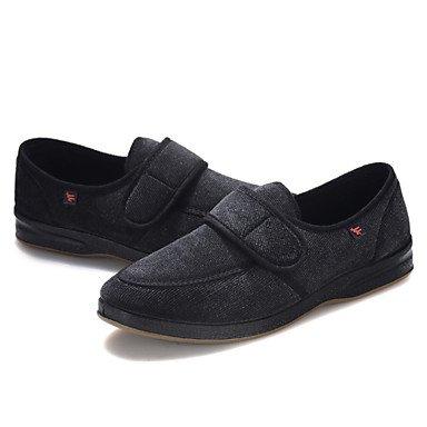 Sandales d'été chaussures d'hommes Outdoor / Bureau Carrière / Molleton décontracté Slip-on Blue Black