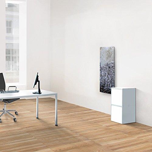 weko Systemmöbel baureihe e AZ-TYP-16A Schrank, Holz, weiß, 40 x 40 x 81 cm