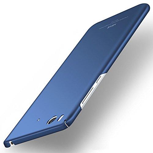 Xiaomi Mi 5s Hülle, MSVII® Sehr Dünn Hülle Schutzhülle Case Und Displayschutzfolie für Xiaomi Mi 5s - Rot / RED JY00292 Blau